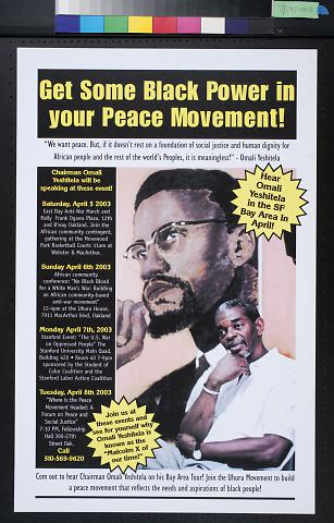 Get Some Black Power in your Peace Movement