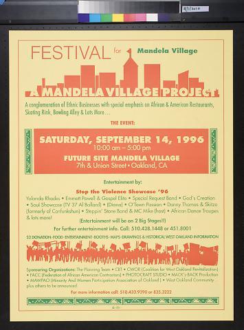 Festival for Mandela Village