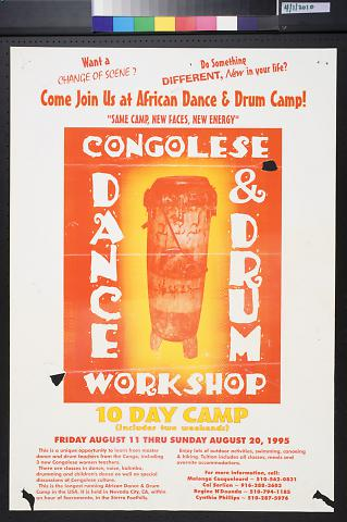 Congolese Dance & Drum Workshop