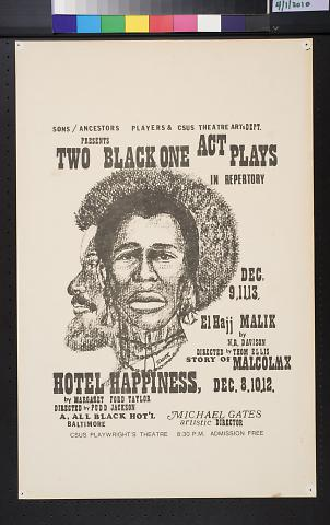 Two Black One Act Plays
