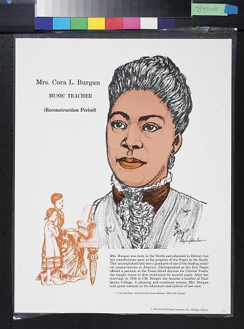 Mrs. Cora L. Burgan