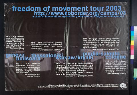 freedom of movement tour