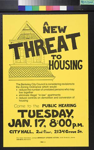 A New Threat To Housing
