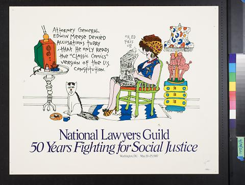 National Lawyers Guild 50 years Fighting for Social Justice