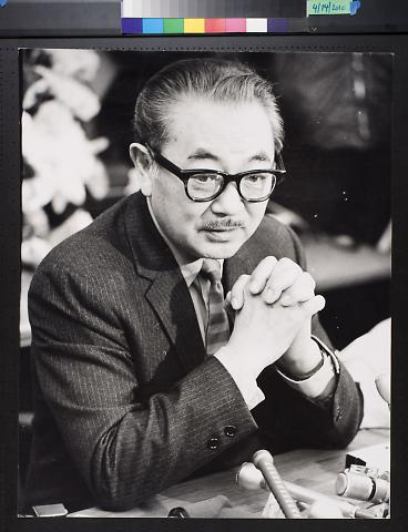 untitled (Asian man in glasses)