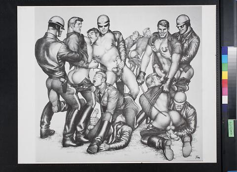 untitled (male orgy)