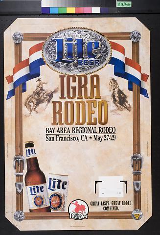 Miller Lite Beer: IGRA Rodeo