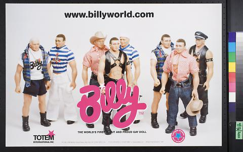 "Billy - ""The world's first out and proud gay doll"""