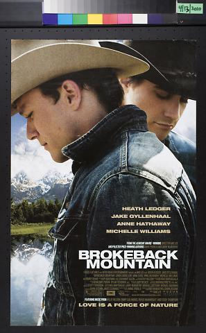 Brokeback Mountain [movie poster]