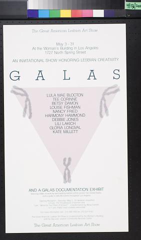 GALAS: The Great American Lesbian Art Show