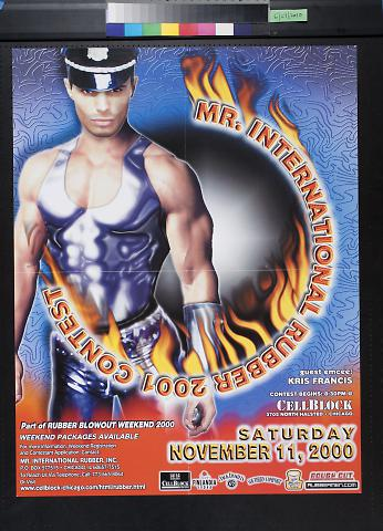 Mr. International Rubber 2001 Contest