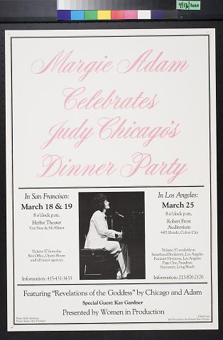 Margie Adam Celebrates Judy Chicago's Dinner Party