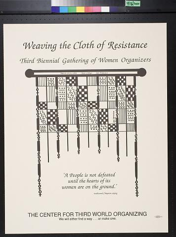 Weaving the Cloth of Resistance