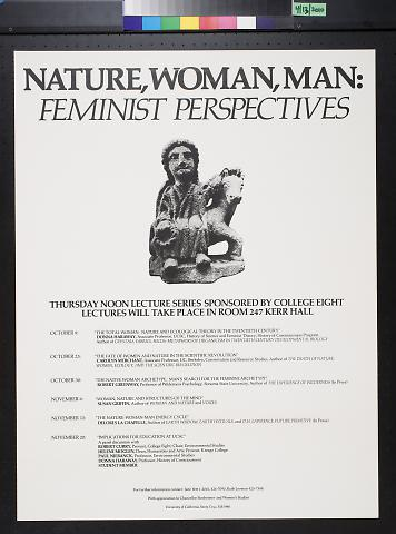 Nature Woman, Man: Feminist Perspectives