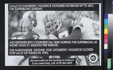 Calls to domestic violence hotlines increase up to 40% on Superbowl Sunday