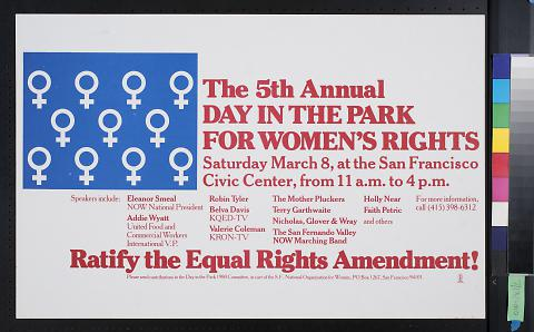 The 5th Annual Day in the Park for Women's Rights