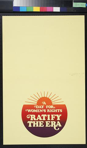 A Day for Women's Rights: Ratify the Era