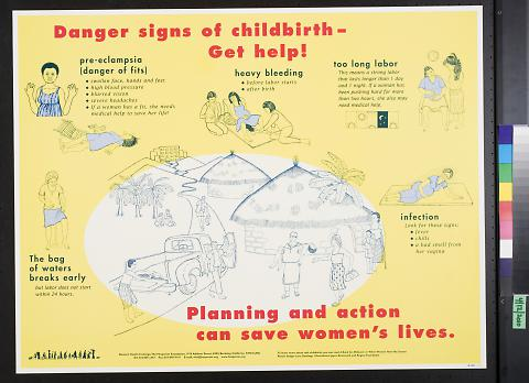 Danger signs of childbirth - Get help!