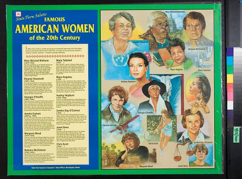 State Farm Salutes: Famous American Women of the 20th Century