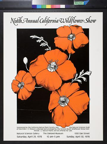 Ninth Annual California Wildflower Show