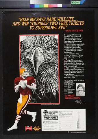 Help me save rare wildlife...and win yourself two free tickets to Superbowl XVII