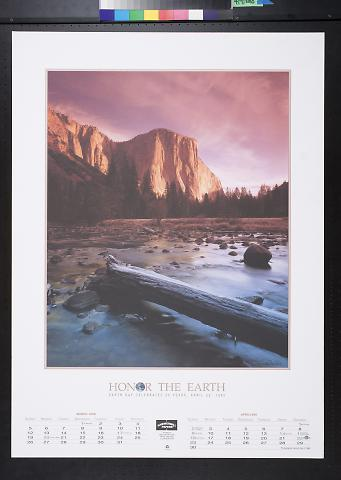 Honor the Earth: Earth Day Celebrates 15 Years, April 22, 1995