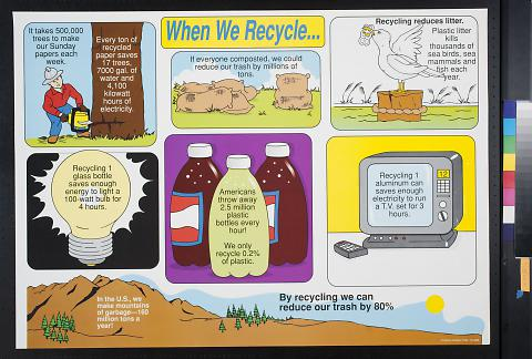 When We Recycle...