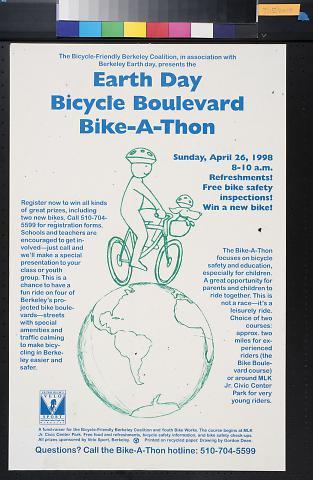 Earth Day Bicycle Boulevard Bike-A-Thon