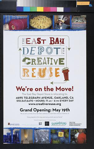 The East Bay Depot for Creative Use