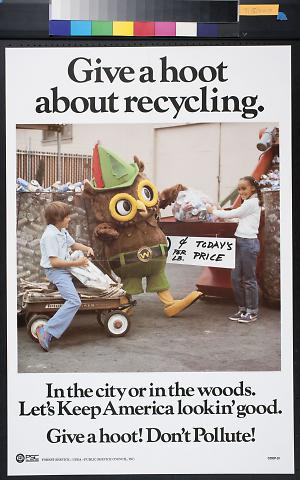 Give a Hoot About Recycling
