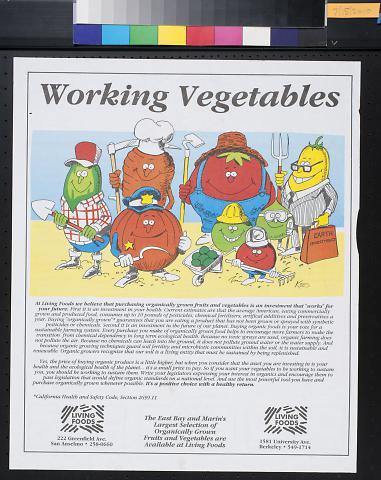 Working Vegetables