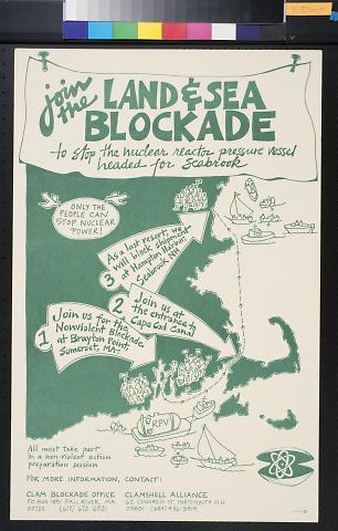 Join the Land & Sea Blockade