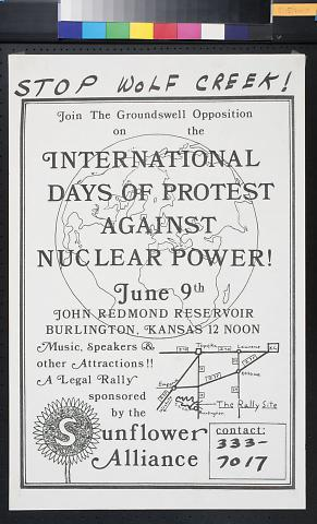 International Days of Protest Against Nuclear Power