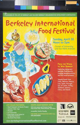 Berkeley International Food Festival