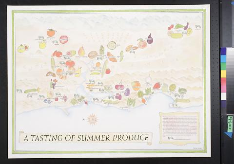 A Tasting of Summer Produce