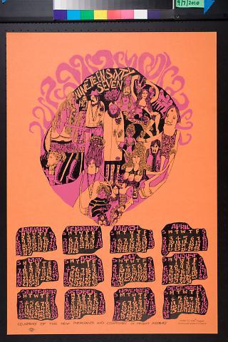 Nineteen Sixty Seven [1967] calendar