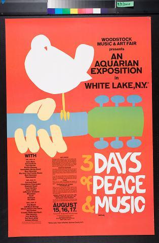 An Aquarian Exposition in West Lake, N.Y. [Woodstock concert]
