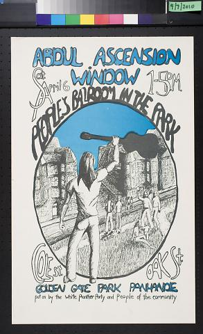 Abdul Ascension Window: People's Ballroom in the Park