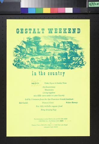 Gestalt Weekend