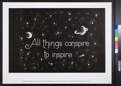 All Things Conspire to Inspire