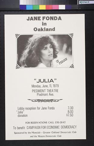 Jane Fonda in Oakland