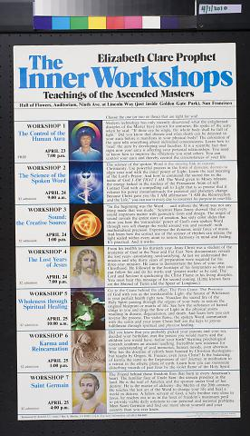 The Inner Workshops: Teachings of the Ascended Masters