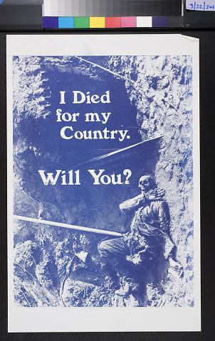 I Died For My Country