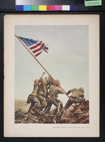 Marines Raising the Flag on Iwo Jima