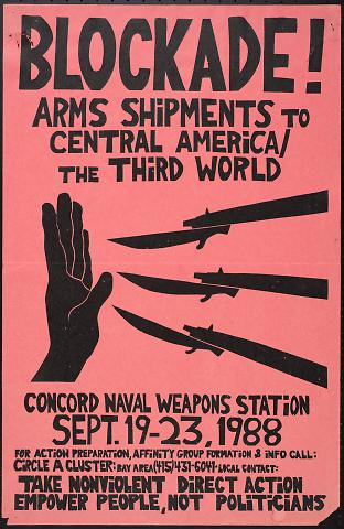 Blockade! Arms Shipments to Central America [and the] Third World : Concord Naval Weapons Station