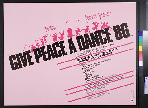 Give Peace A Dance 86