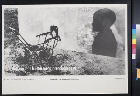 untitled (baby buggy and silhouette)