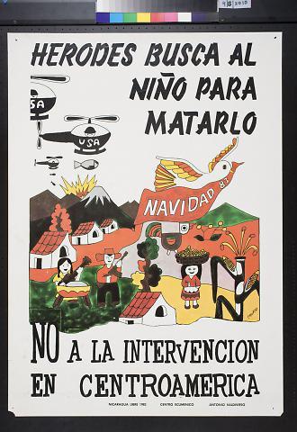 No A La Intervencion En Centroamerica