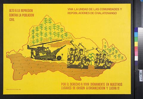 Alto A La Represion Contra La Poblacion Civil