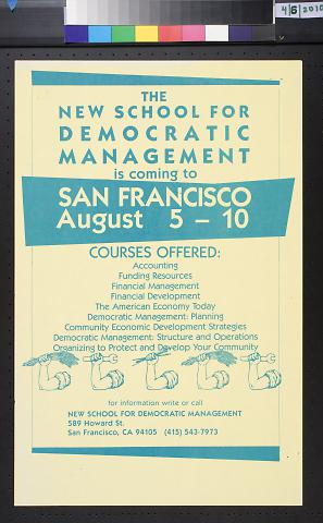 The New School for Democratic Management
